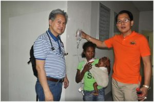New York AAP Chapter 2 members, Dr. Jose Quiwa MD FAAP (R) and Dr. Sam Bangug MD FAAP (L)