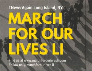 March For Our Lives LI @ Town Hall, Huntington, NY | Huntington | New York | United States